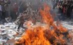 شاب تونسي يضرم النار بجسده بشارع الثورة على طريقة البوعزيزي