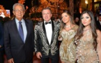 حفل زفاف باذخ لرجل أعمال سوريّ في مصرحضره عمرو موسى