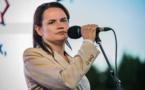 البرلمان الاوربي يمنح جائزة سخاروف لسفيتلانا تيخانوفسكايا
