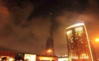 """دبي تنفي ما أشيع عن اشتعال حريق في """"برج خليفة"""" الأعلى بالعالم"""