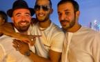 المزروعي يحذف صورة تجمع محمد رمضان مع الإسرائيلي عومير آدم