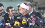 نجاد لاول مرة بمصر منذ 30 عاما ويواجه انتقادات قاسية لايران في الازهر