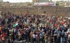 """مظاهرات في سوريا رفضا لـ""""مسرحية"""" النظام الانتخابية"""