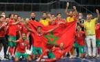 المغرب يتوج بكأس العرب لكرة الصالات بعد فوزه على مصر