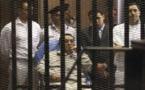 تأجيل رابع جلسات إعادة محاكمة مبارك ونجليه و العادلي إلى آب/أغسطس
