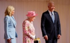 """بايدن: الملكة إليزابيث """"كريمة للغاية"""".. وذكرتني بوالدتي"""
