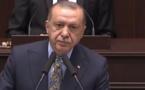 أردوغان : الولايات المتحدة  تدعم جماعات إرهابية