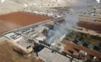 """مصادر شام : قصف مخفر سرمدا""""أوامر روسية""""هدفها ارتكاب مجزرة"""