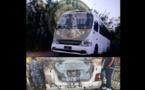 """""""سرايا قاسيون"""" تتبنى عملية استهداف باص مبيت لقوات الأسد بدمشق"""