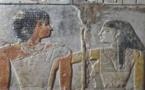 اكتشاف اقدم لوحة تجسد قصة حب بين زوجين في مقبرة فرعونية