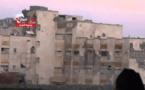 مقاتلو المعارضة يفجرون مبنى المخابرات الجوية في حلب