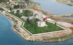 قائد الجيش التركي يزور الموقع الجديد لضريح سليمان شاه