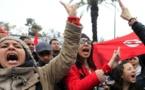 مسيره تونس ضد الارهاب