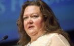 المليارديرة الأسترالية رينهارت تتهم شبكة تلفزيونية بالخداع والتضليل