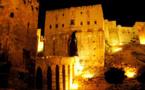 انهيار جزء من سور قلعة حلب جراء تفجير نفق في محيطها