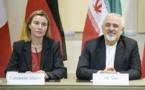 موجيريني وظريف يعلنان التوصل إلى اتفاق رسمي مع إيران