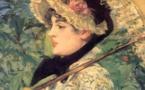"""لوحة للرسام الفرنسي """"مانيه"""""""