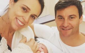 رئيسة وزراء نيوزيلندا تستقبل طفلتها الاولى