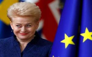 رئيسة ليتوانيا تمازح بريطانيا بتحديد أمنيتها في عيد الميلاد