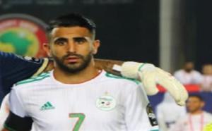 رياض محرز : مدربنا رائع  وهدفنا الفوز ببطولة أمم أفريقيا