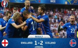 جماهير أيسلندا تحتشد في الشوارع احتفالا بفوز منتخبها على إنجلترا
